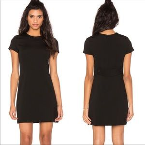 Theory Black Jatinn Oxford Dress